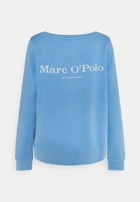Marc O'Polo - LONG SLEEVE ROUND NECK - Sweatshirt - washed cornflower - 1