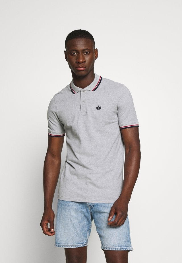 JJENOAH - Polo - light grey melange
