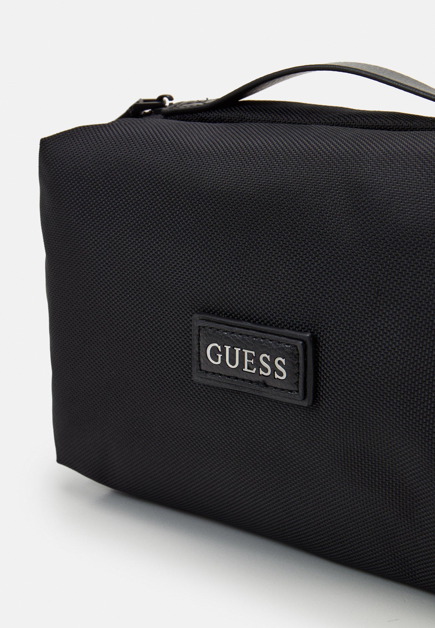 Guess MASSA TRAVEL BEAUTY - Kosmetiktasche - black/schwarz - Herrentaschen z07Qu
