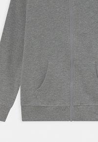 Name it - NKFNASWEAT HOOD - Zip-up sweatshirt - grey melange - 2