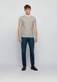 BOSS - TABER+ - Jeans Tapered Fit - dark blue - 1