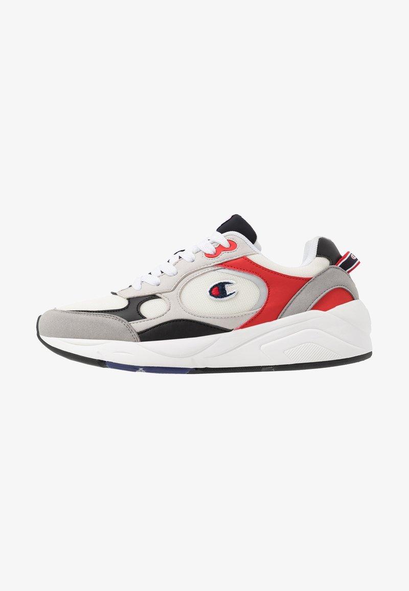 Champion - LOW CUT SHOE LEXINGTON - Sports shoes - offwhite/grey/red