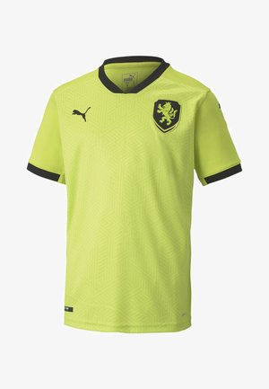CZECH REPUBLIC  AWAY REPLICA  - Nationalmannschaft - limepunch-black