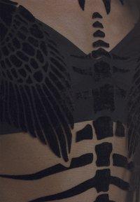 Diesel - T-NOELAY-H - T-shirt print - black/black - 5