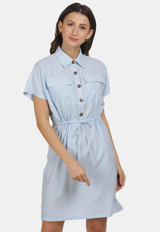 Sukienka koszulowa - hellblau