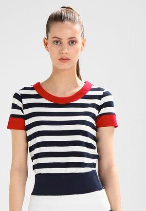 TONNERE - T-shirt imprimé - navy/pearl