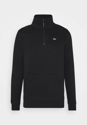 DETAIL MOCK NECK - Sweatshirt - black