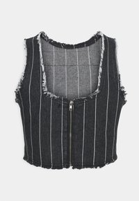 Jaded London - PINSTRIPE TANK WITH FRAYING - Blusa - multi coloured - 1