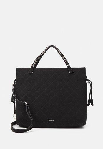 ANASTASIA SOFT - Tote bag - black