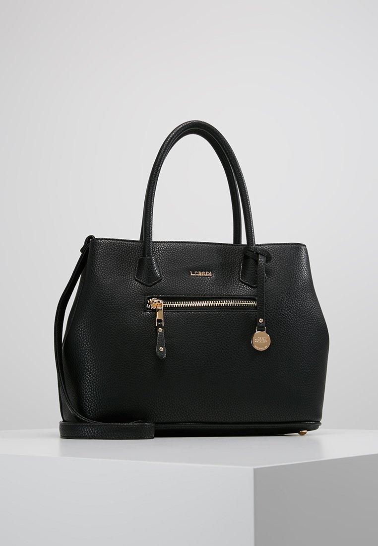 L. CREDI - MAXIMA - Handbag - black