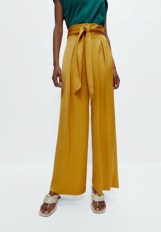 Broek - mustard yellow
