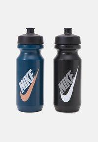 Nike Performance - BIG MOUTH GRAPHIC BOTTLE 600 ML 2 PACK UNISEX - Drink bottle - blue/black - 0