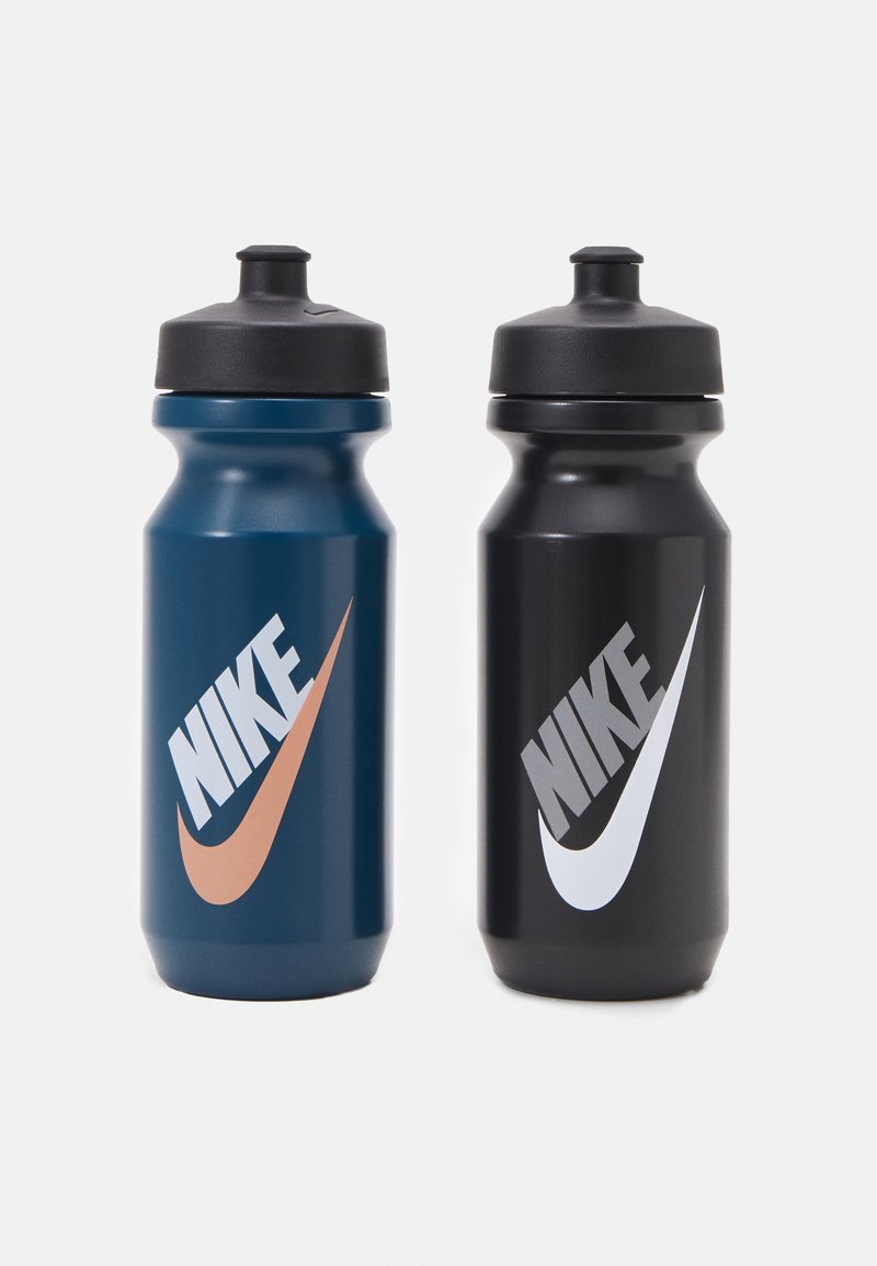 Nike Performance - BIG MOUTH GRAPHIC BOTTLE 600 ML 2 PACK UNISEX - Drink bottle - blue/black