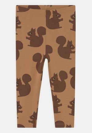 SQUIRREL UNISEX - Leggings - Trousers - brown