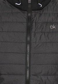 Calvin Klein Golf - WRANGELL HYBRID GILET - Waistcoat - black - 6