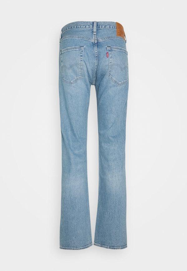 Levi's® 501® LEVI'S® ORIGINAL FIT UNISEX - Jeansy Straight Leg - basil sand/jasnoniebieski Odzież Męska KEVP