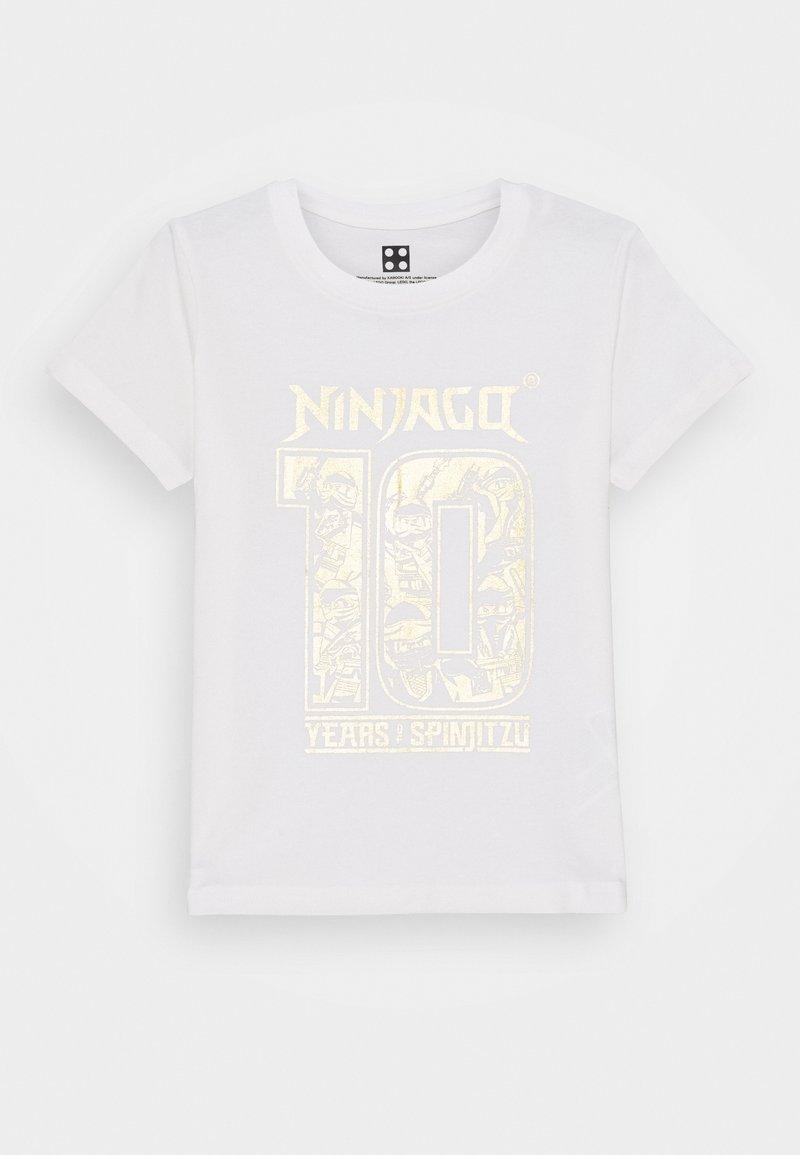 LEGO Wear - NINJAGO JUBILÄUM  - Print T-shirt - off white