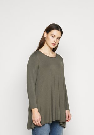 LONG SLEEVE  - Topper langermet - khaki