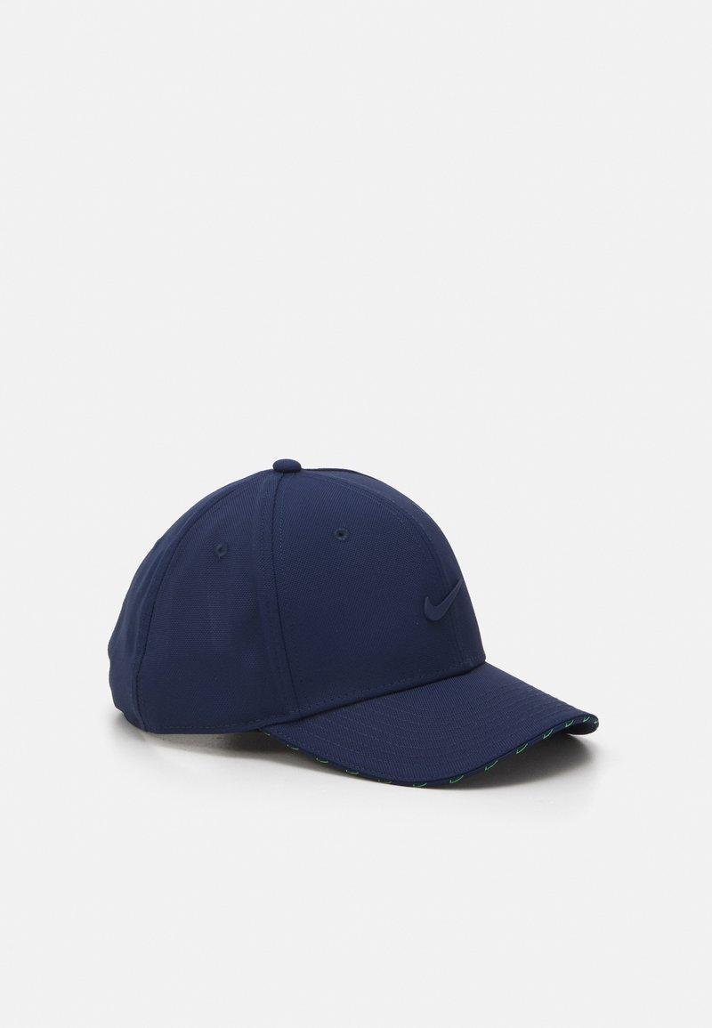 Nike Sportswear - UNISEX - Cap - midnight navy/mean green