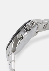 BOSS - DISTINCT - Chronograph watch - silver-coloured/black - 2