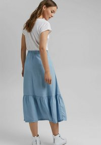 edc by Esprit - A-line skirt - blue light washed - 2