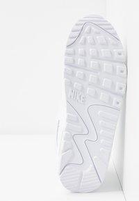 Nike Sportswear - AIR MAX 90 - Matalavartiset tennarit - white - 4