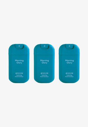 HAAN 3 PACK HAND SANITIZER - Bath and body set - morning glory