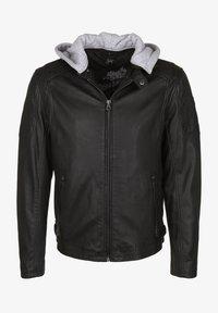 Gipsy - RYLO LAKEV - Leather jacket - black - 6