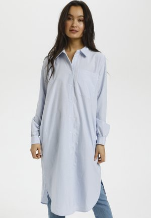 Shirt dress - chalk / forever blue stripe