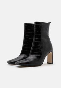 MIISTA - MARCELLE - High heeled ankle boots - black - 2