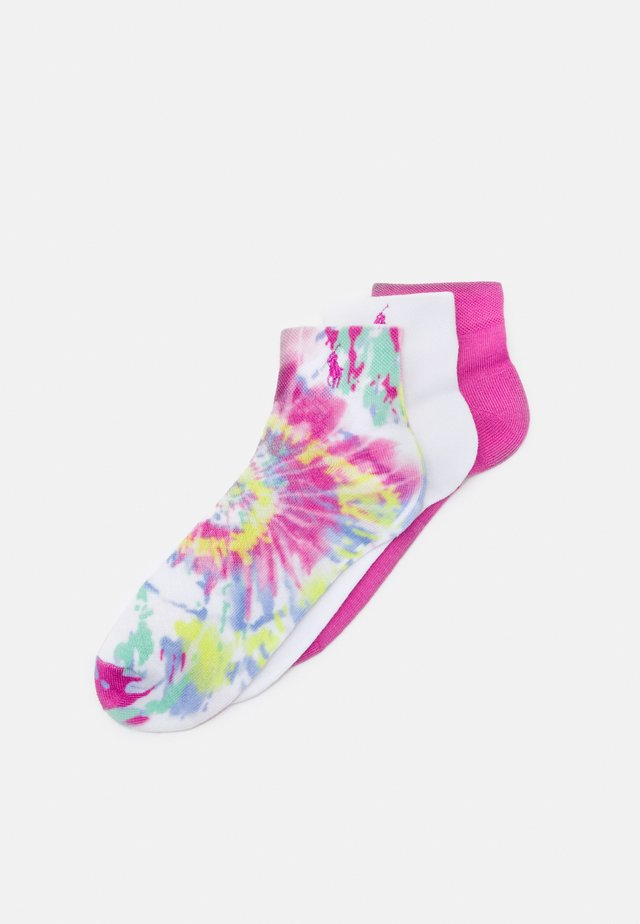 SPUN TIE DYE QUARTER 3 PACK - Socken - multi-coloured