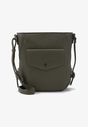 JANITA  - Across body bag - khaki / khaki