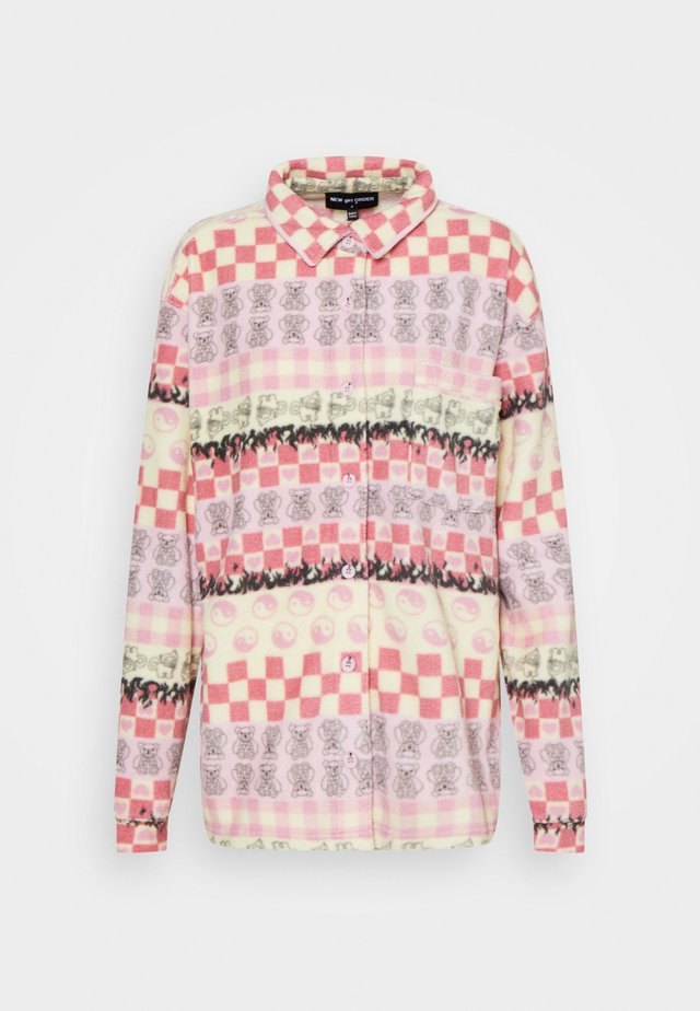 HEART CHECKERBOARD - Bomber Jacket - multi