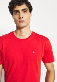Napapijri - SALIS - Basic T-shirt - orange clay - 3