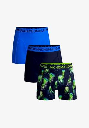 3-PACK JELLY FISH - Pants - blue/black/print
