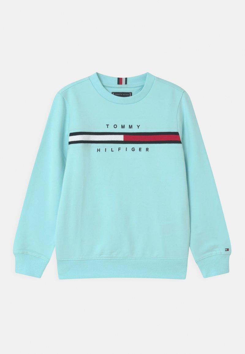 Tommy Hilfiger - FLAG INSERT  - Sweatshirt - frost blue