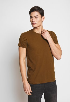 KRONOS  - Basic T-shirt - brown