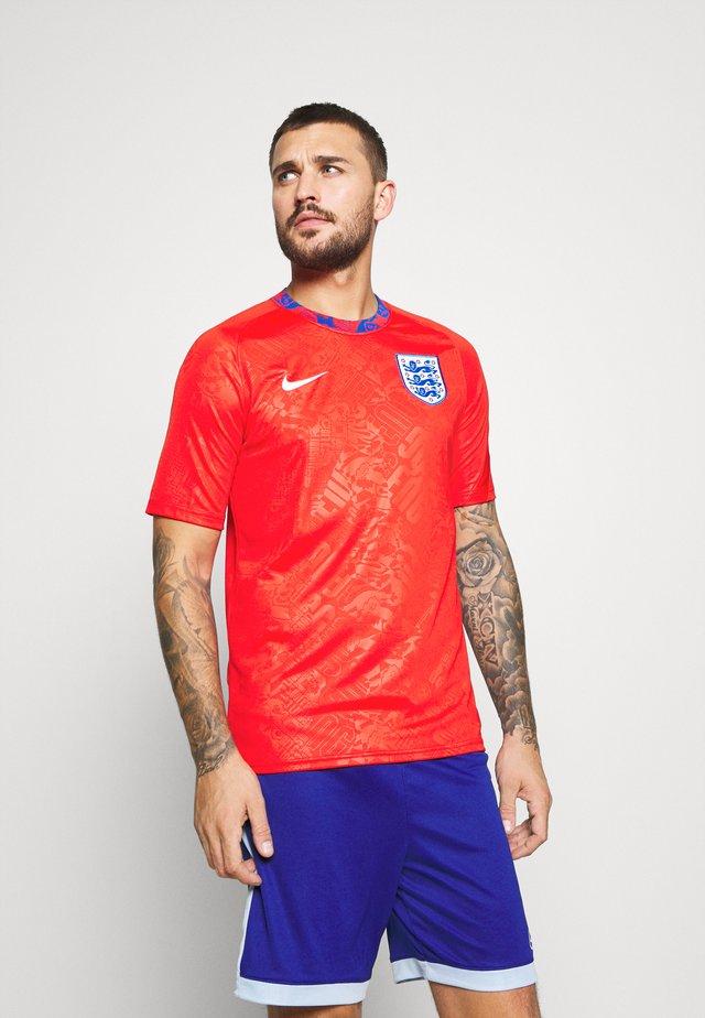 ENGLAND - Club wear - challenge red/white