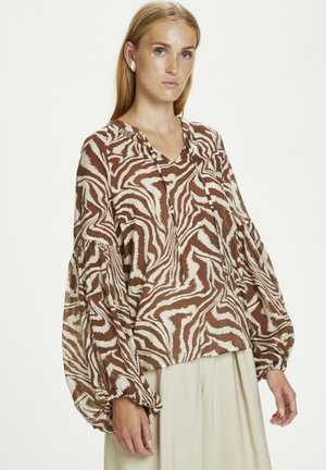 GAMEN - Blouse - safari zebra