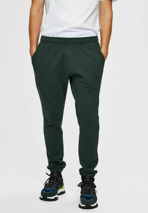 SLHCREW  - Tracksuit bottoms - sycamore