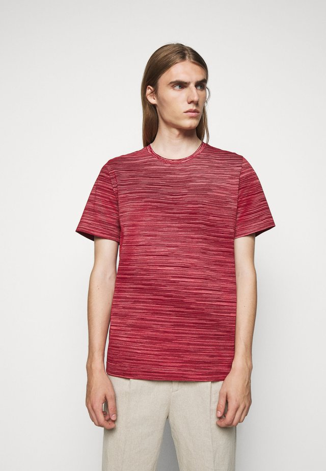 SHORT SLEEVE - T-shirts med print - red