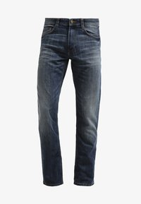 TOM TAILOR - MARVIN - Straight leg jeans - mid stone wash denim - 6