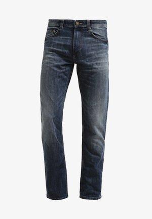 MARVIN - Jeans straight leg - mid stone wash denim