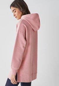 Next - LONGLINE - Hoodie - pink - 1