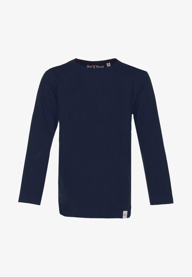 LONGSLEEVE BASIC - Langærmede T-shirts - blue