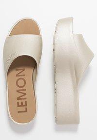 LEMON JELLY - SUNNY - Mules à talons - warm grey - 3