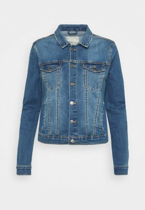 ROCK - Denim jacket - vintage blue denim