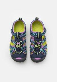Keen - SEACAMP II CNX UNISEX - Chodecké sandály - black iris/african violet - 3