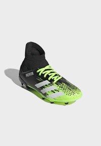 adidas Performance - PREDATOR FOOTBALL BOOTS FIRM GROUND UNISEX - Botas de fútbol con tacos - siggnr/ftwwht/cblack - 2