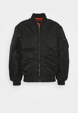 LIVEUTION REVERSIBLE JACKET UNISEX - Bomber Jacket - black